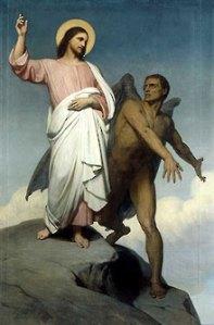 Satan bekoort Jezus Christus
