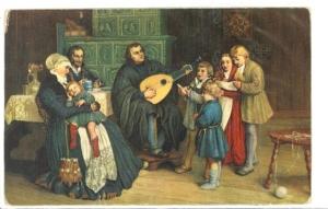 Ketter Luther, Katherina von Bora en zijn lieftallige familie