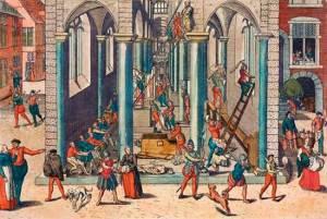 Calvinistische beeldenstorm in Antwerpen