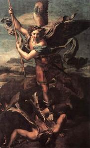Satan en St. Michael