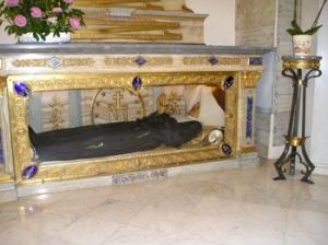 Incorrupt lichaam van St. Catherina Labouré in de Rue du Bac 140