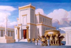 Tempel van Jeruzalem uit het Oude Testament