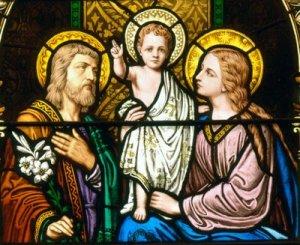 Jezus, Maria, Jozef
