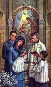 Doopsel van kinderen in de Katholieke Kerk