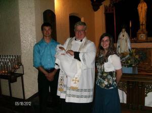Kinderdoopsel in de Katholieke Kerk